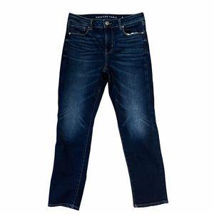 American Eagle Super Stretch Skinny Blue Jeans